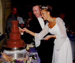 Chocolate Fountains For Weddings in Maryland and Virginia